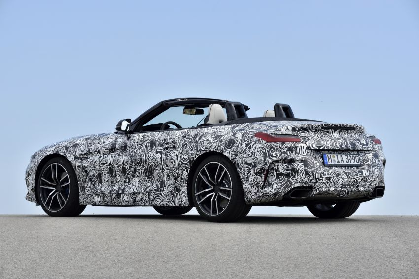 New BMW Z4 – official details and pics, video released Image #823425