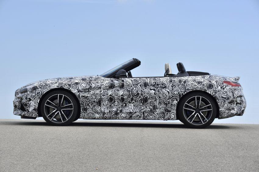 BMW Z4 2019 – perincian, gambar, video rasmi disiar Image #823606