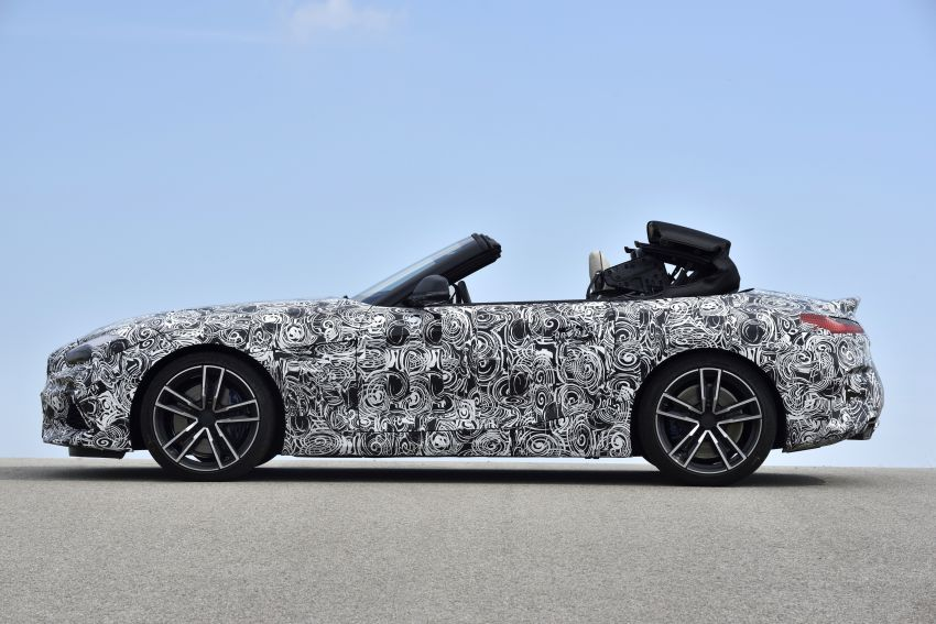 New BMW Z4 – official details and pics, video released Image #823427