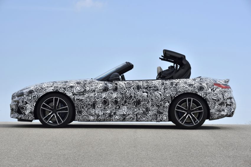 New BMW Z4 – official details and pics, video released Image #823428