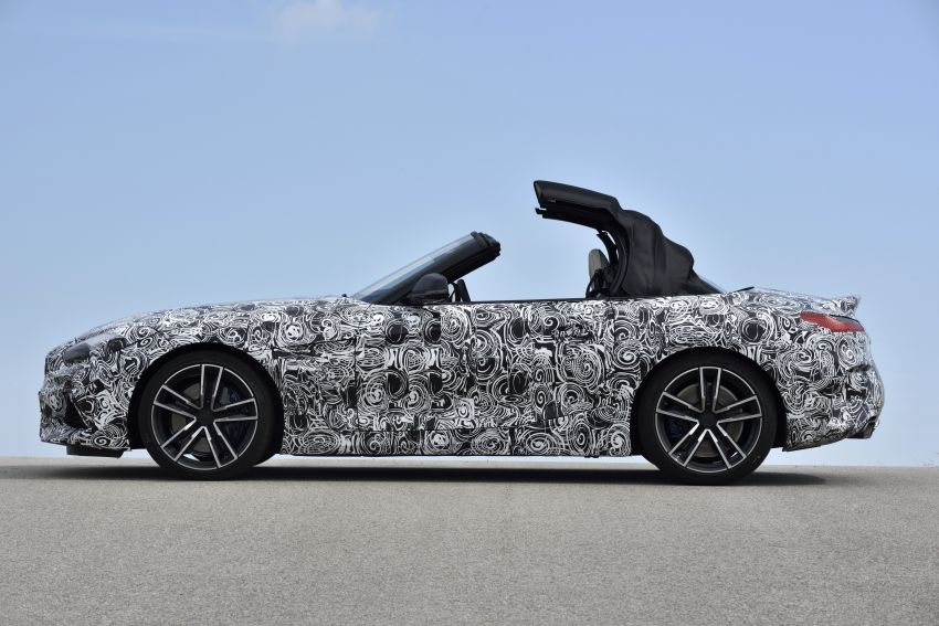New BMW Z4 – official details and pics, video released Image #823429