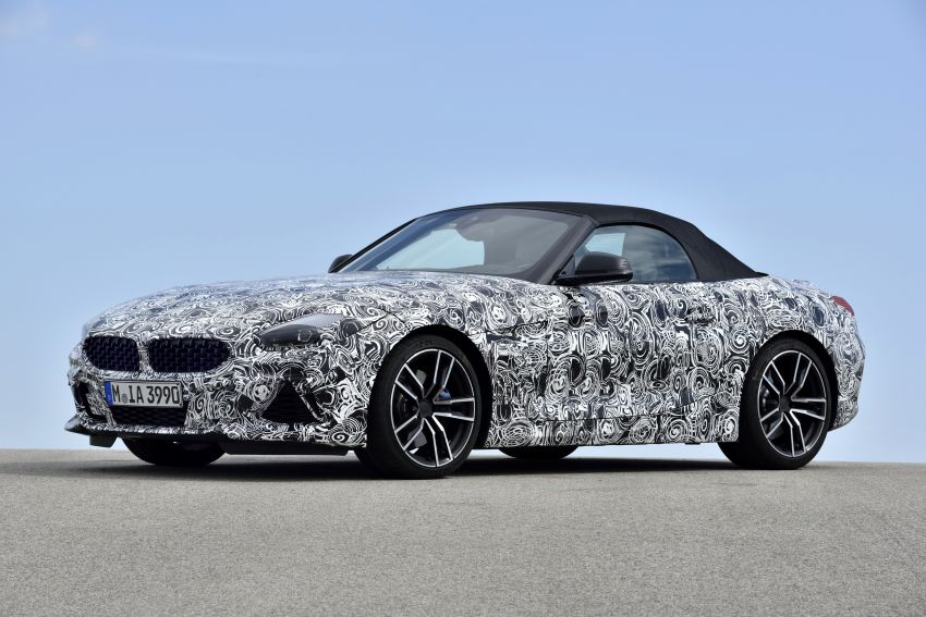 New BMW Z4 – official details and pics, video released Image #823431