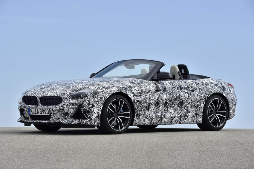 New BMW Z4 – official details and pics, video released Image #823432