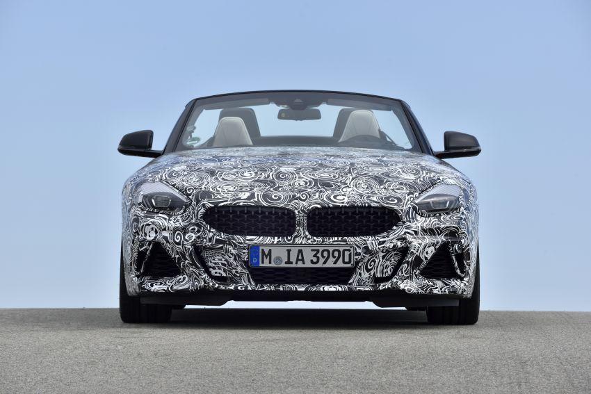 BMW Z4 2019 – perincian, gambar, video rasmi disiar Image #823613