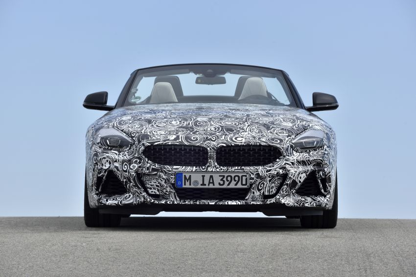 New BMW Z4 – official details and pics, video released Image #823433