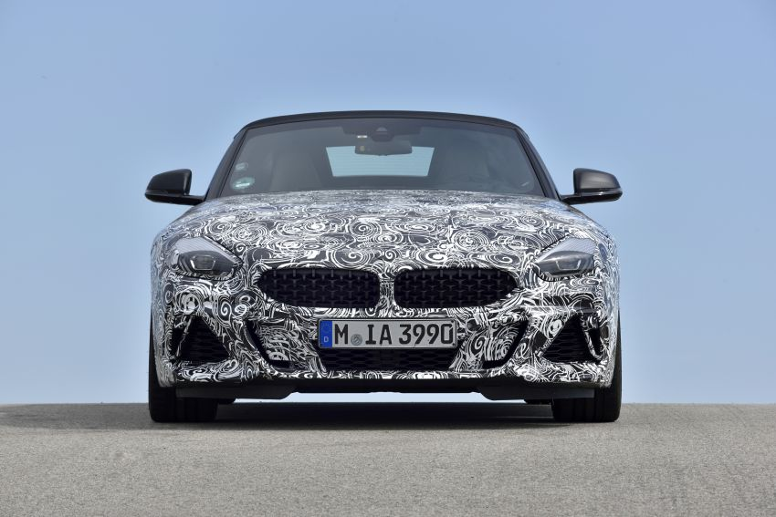 New BMW Z4 – official details and pics, video released Image #823434