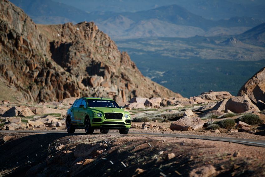 Bentley Bentayga sets new SUV record at Pikes Peak – celebratory limited edition revealed, only 10 units Image #832280