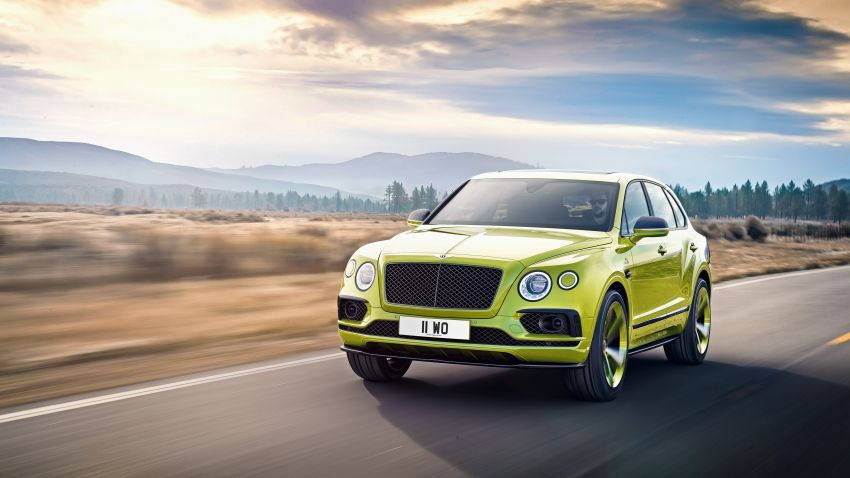 Bentley Bentayga sets new SUV record at Pikes Peak – celebratory limited edition revealed, only 10 units Image #832284