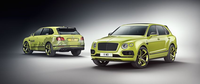 Bentley Bentayga sets new SUV record at Pikes Peak – celebratory limited edition revealed, only 10 units Image #832285