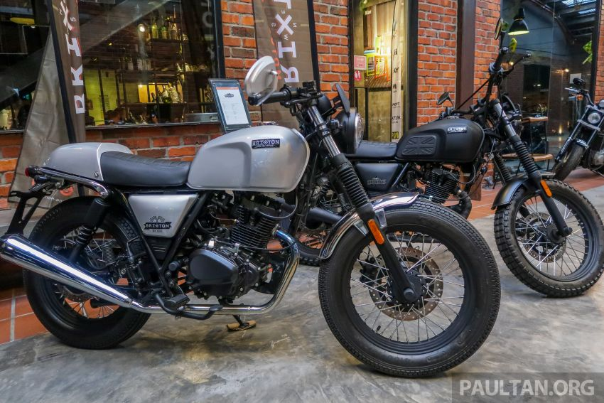 2018 Brixton Motorcycles in Malaysia – from RM8,988 Image #826031