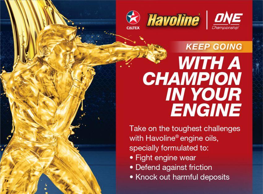 Caltex Havoline One Championship promo – til July 31 Image #823184