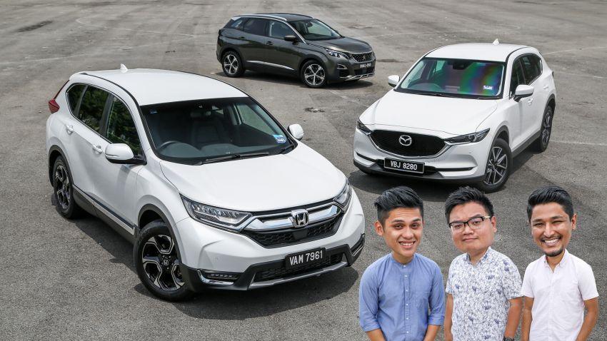 Driven Web Series 2018: best family SUVs in Malaysia – new Honda CR-V vs Mazda CX-5 vs Peugeot 3008 Image #823175