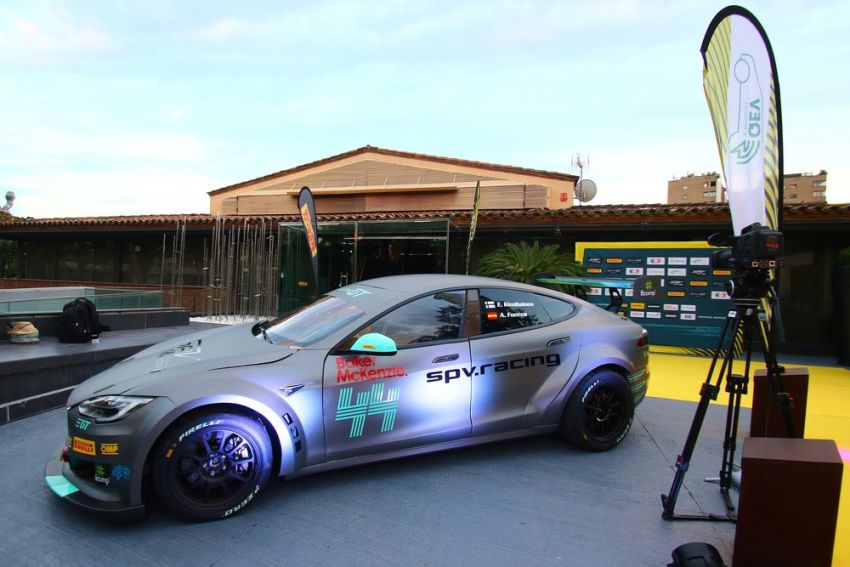 Tesla Model S P100DL debuts in Barcelona – first Electric Production Car Series race in November Image #832899
