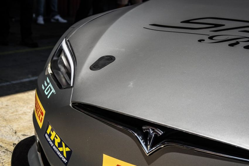 Tesla Model S P100DL debuts in Barcelona – first Electric Production Car Series race in November Image #832886