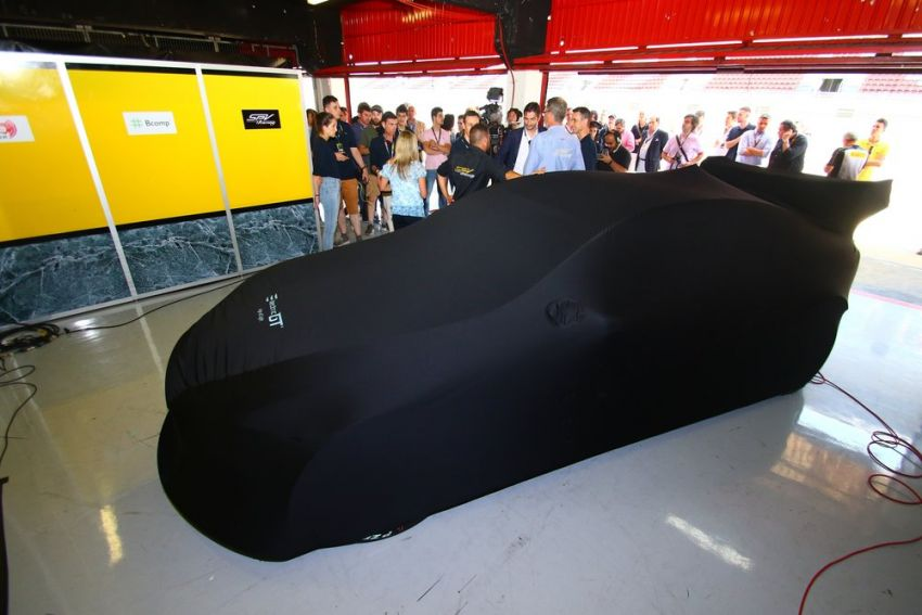 Tesla Model S P100DL debuts in Barcelona – first Electric Production Car Series race in November Image #832907