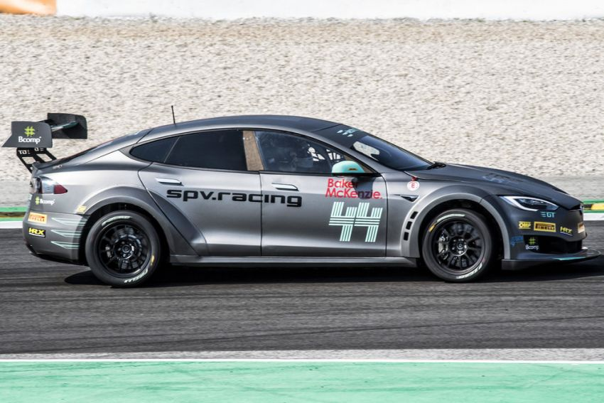 Tesla Model S P100DL debuts in Barcelona – first Electric Production Car Series race in November Image #832920