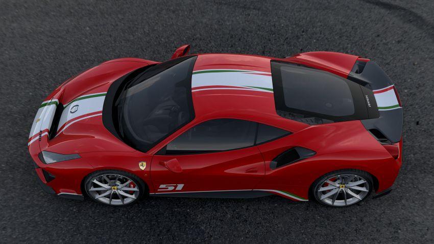 Ferrari 488 Pista 'Piloti Ferrari' is built only for racers Image #828310