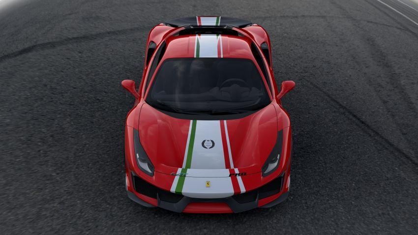 Ferrari 488 Pista 'Piloti Ferrari' is built only for racers Image #828311