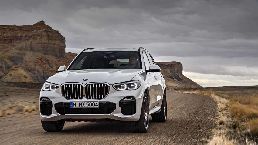 G05 BMW X5 – fourth-gen big SUV officially revealed Image #824139