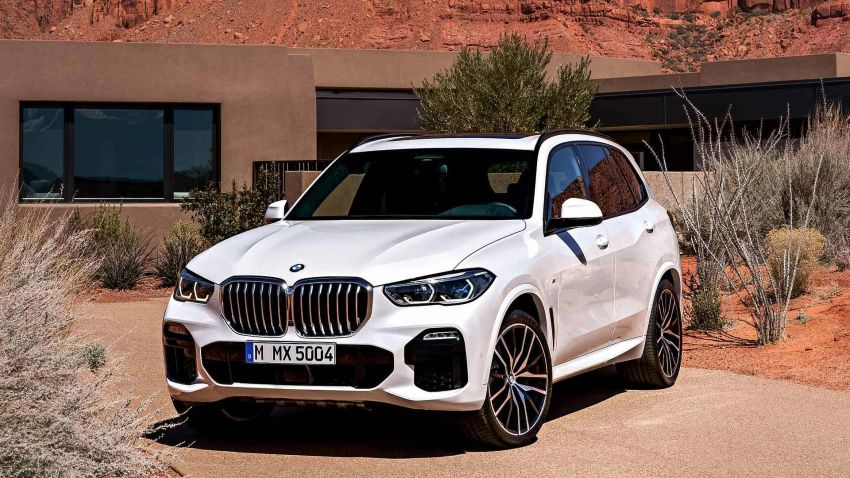 G05 BMW X5 – fourth-gen big SUV officially revealed Image #824140