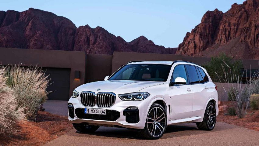 G05 BMW X5 – fourth-gen big SUV officially revealed Image #824141