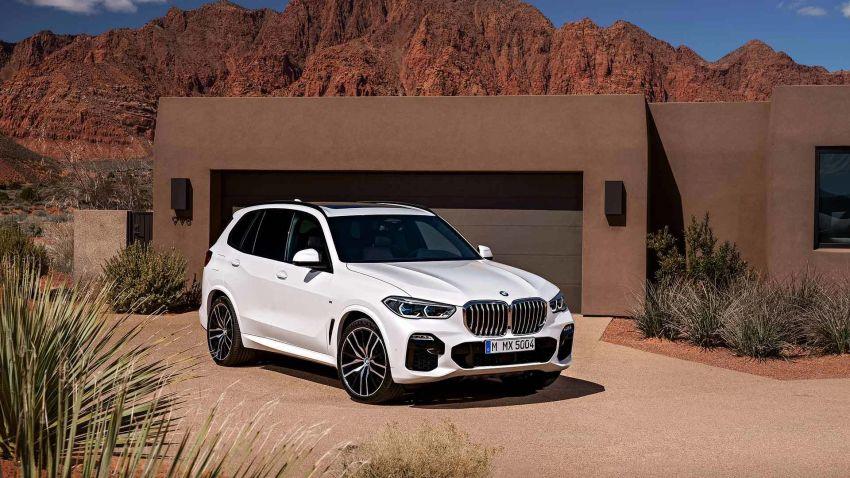 G05 BMW X5 – fourth-gen big SUV officially revealed Image #824146