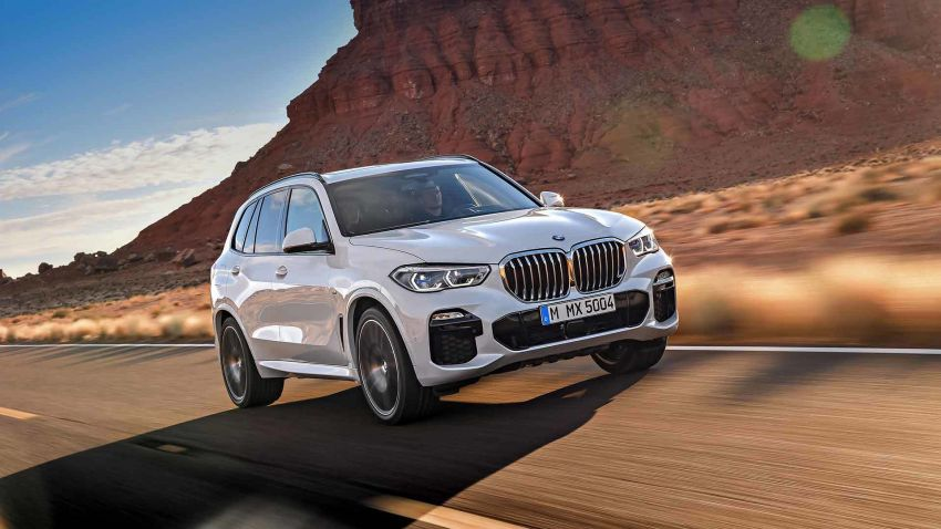 G05 BMW X5 – fourth-gen big SUV officially revealed Image #824147