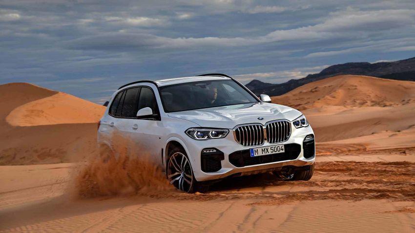 G05 BMW X5 – fourth-gen big SUV officially revealed Image #824148