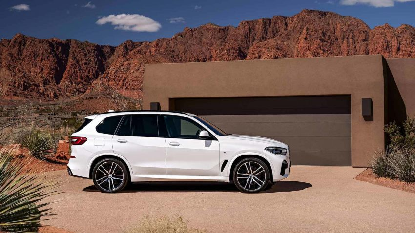 G05 BMW X5 – fourth-gen big SUV officially revealed Image #824152
