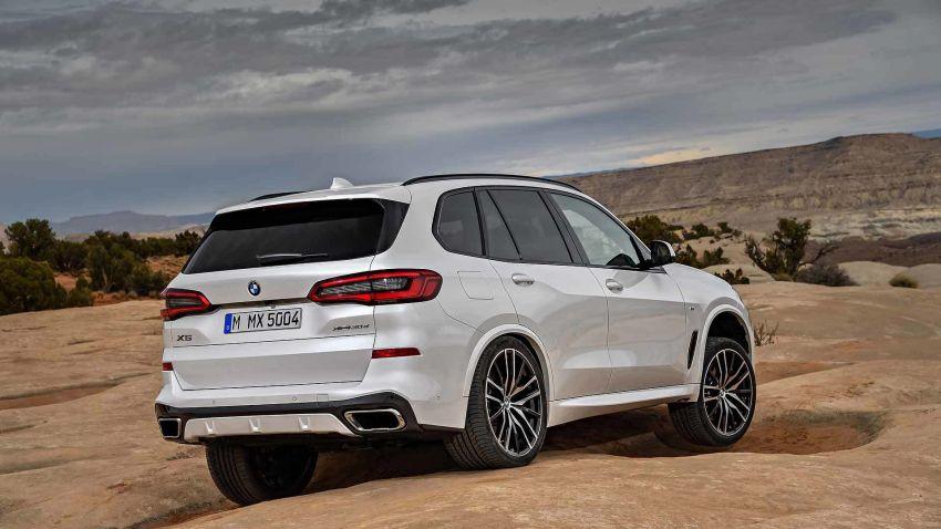 G05 BMW X5 – fourth-gen big SUV officially revealed Image #824153