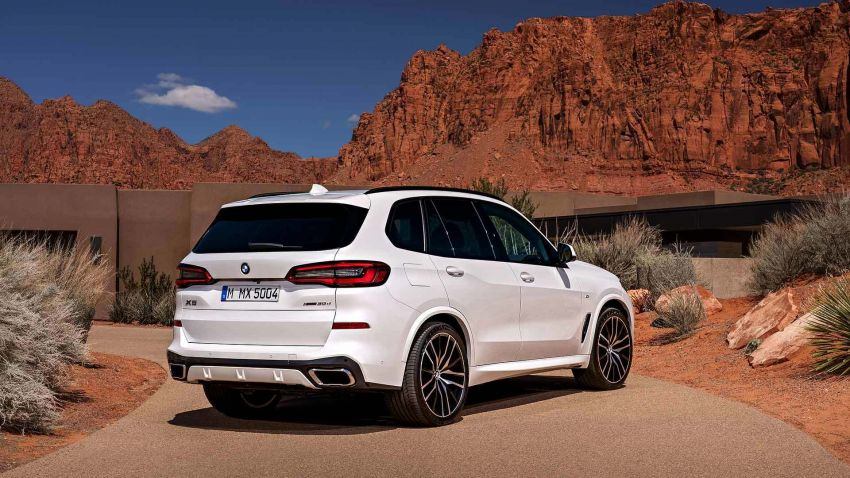 G05 BMW X5 – fourth-gen big SUV officially revealed Image #824154