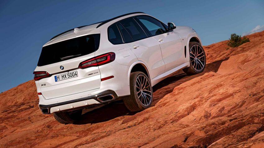 G05 BMW X5 – fourth-gen big SUV officially revealed Image #824155