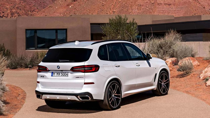 G05 BMW X5 – fourth-gen big SUV officially revealed Image #824156