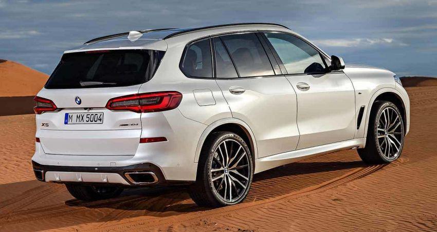 G05 BMW X5 – fourth-gen big SUV officially revealed Image #824157