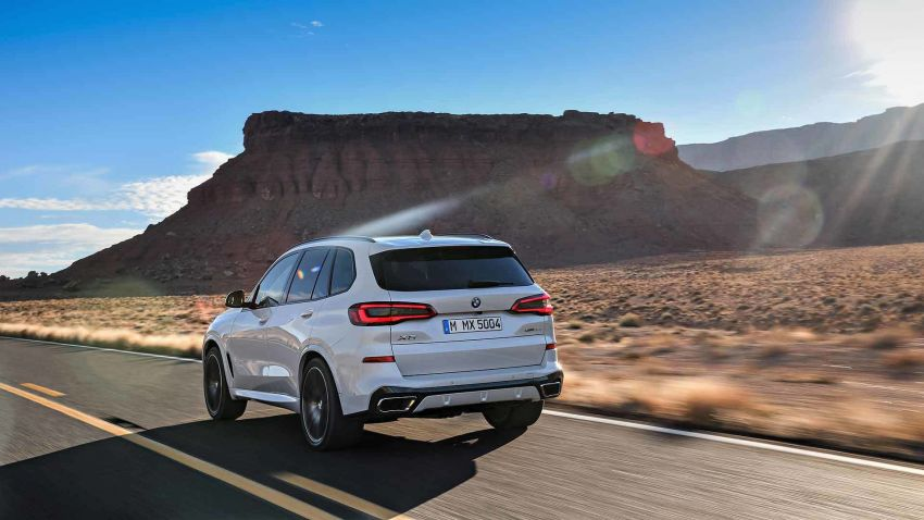 G05 BMW X5 – fourth-gen big SUV officially revealed Image #824159