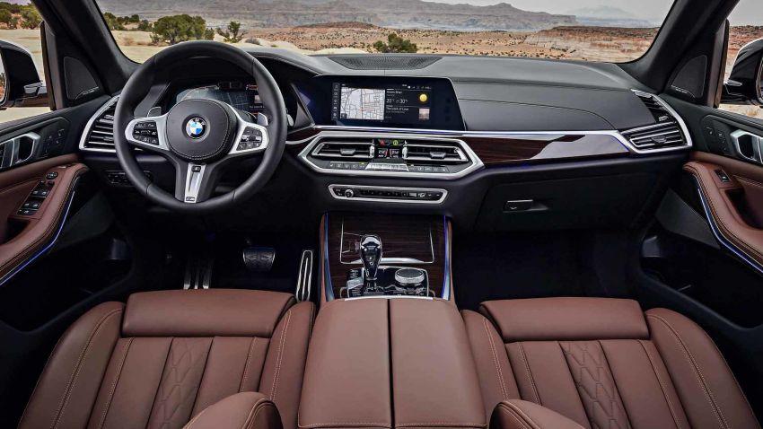 G05 BMW X5 – fourth-gen big SUV officially revealed Image #824163