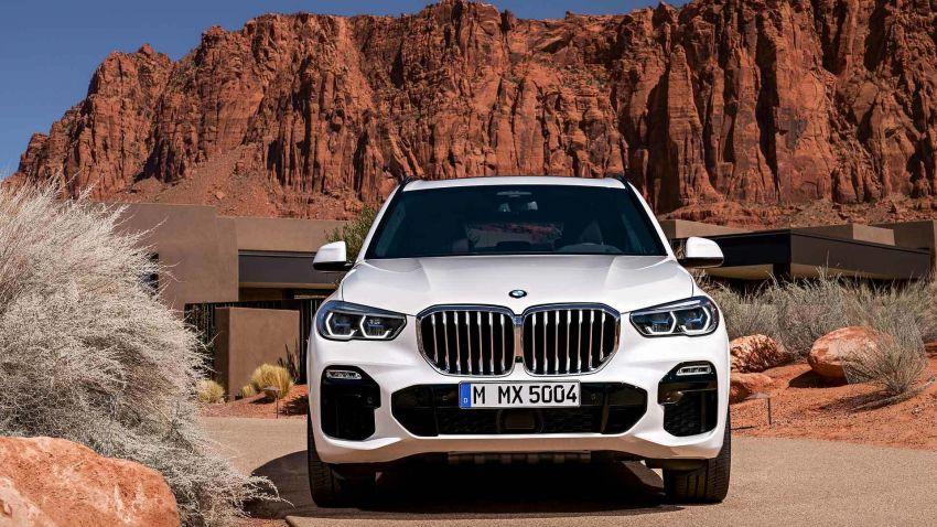 G05 BMW X5 – fourth-gen big SUV officially revealed Image #824173