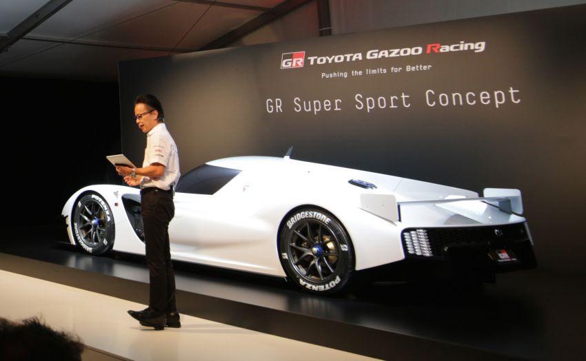 Toyota confirms development of 'super sports car' with Le Mans tech, shows GR Super Sport Concept Image #827531