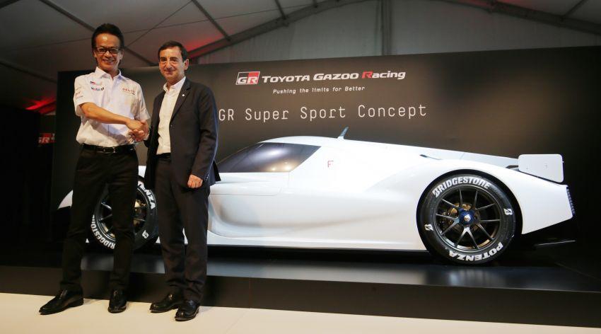 Toyota confirms development of 'super sports car' with Le Mans tech, shows GR Super Sport Concept Image #827533