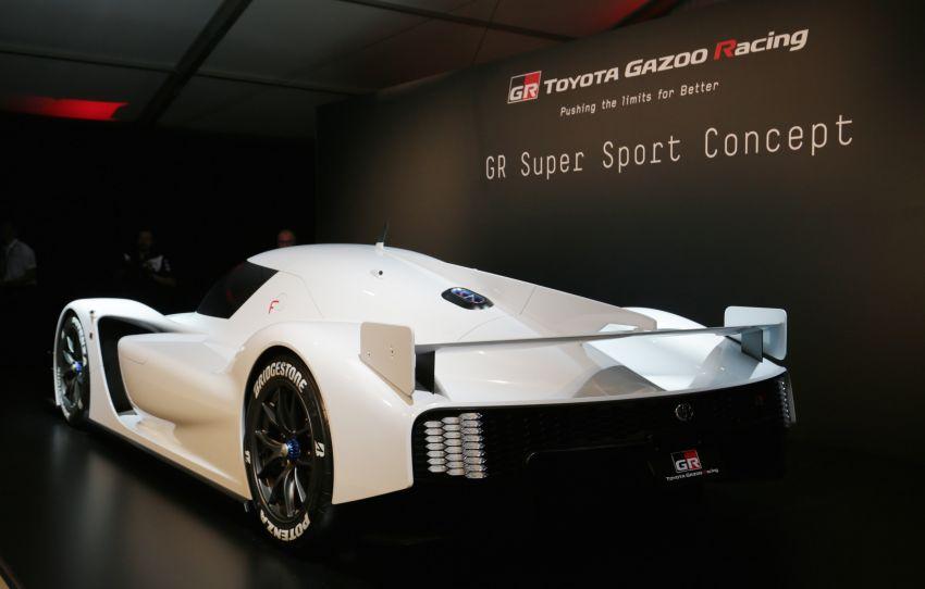 Toyota confirms development of 'super sports car' with Le Mans tech, shows GR Super Sport Concept Image #827535