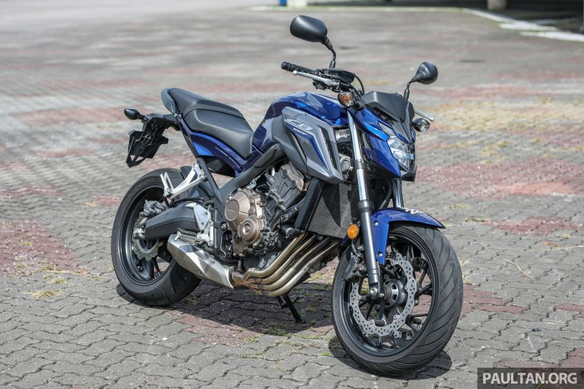 Honda CB650F, Kawasaki Z900 ABS, Triumph 765S, Yamaha MT-09 – which RM50k bike is best for you? Image #829458