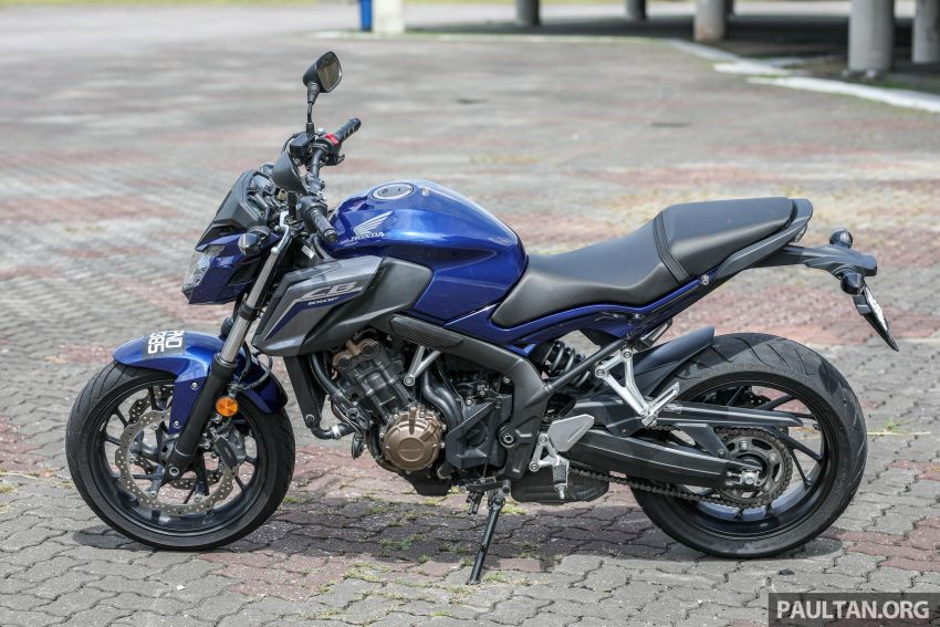 Honda CB650F, Kawasaki Z900 ABS, Triumph 765S, Yamaha MT-09 – which RM50k bike is best for you? Image #829468