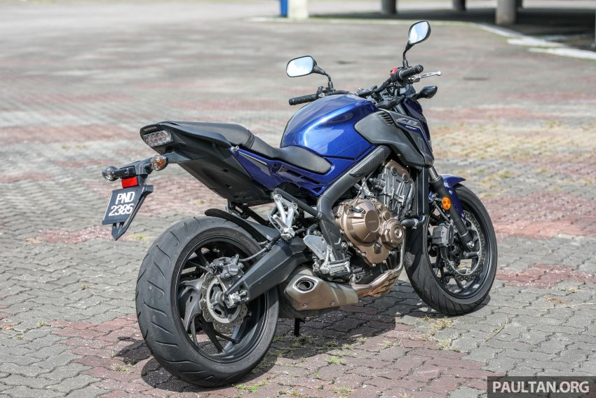 Honda CB650F, Kawasaki Z900 ABS, Triumph 765S, Yamaha MT-09 – which RM50k bike is best for you? Image #829462