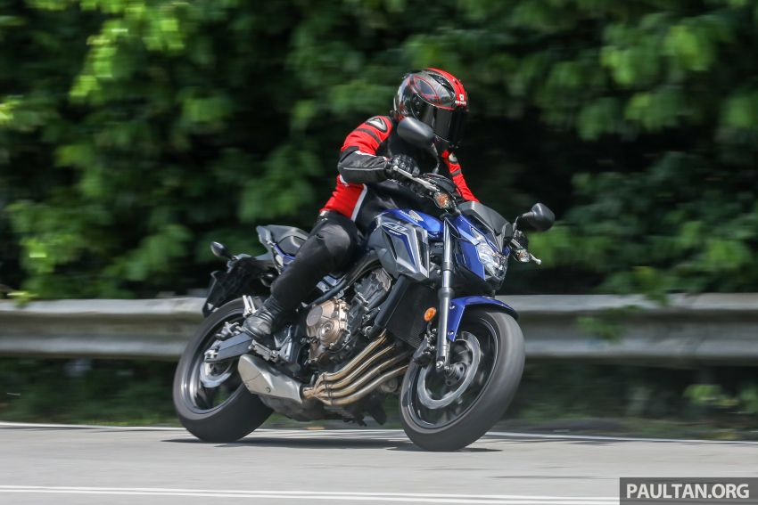 Honda CB650F, Kawasaki Z900 ABS, Triumph 765S, Yamaha MT-09 – which RM50k bike is best for you? Image #829522