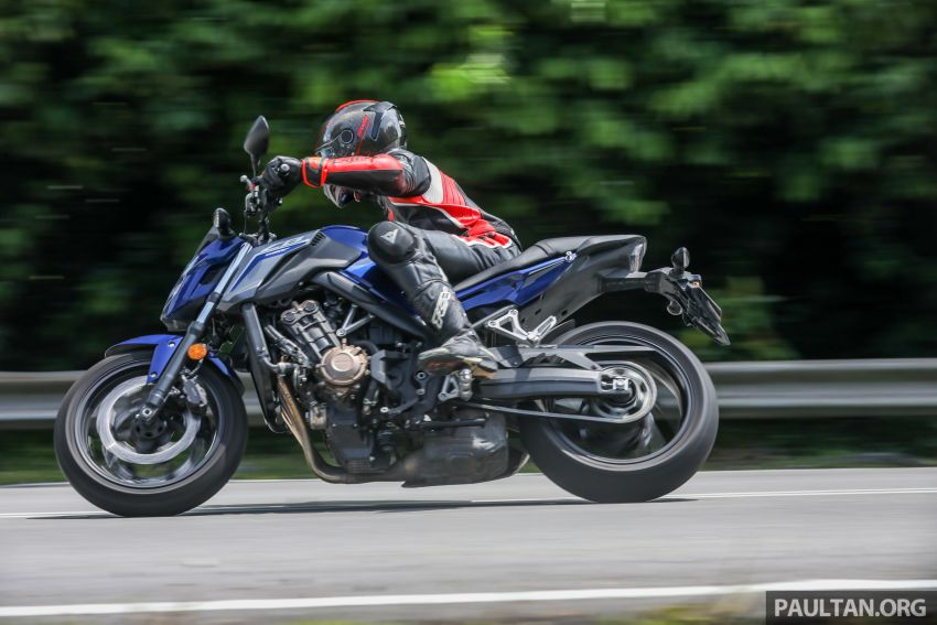Honda CB650F, Kawasaki Z900 ABS, Triumph 765S, Yamaha MT-09 – which RM50k bike is best for you? Image #829526