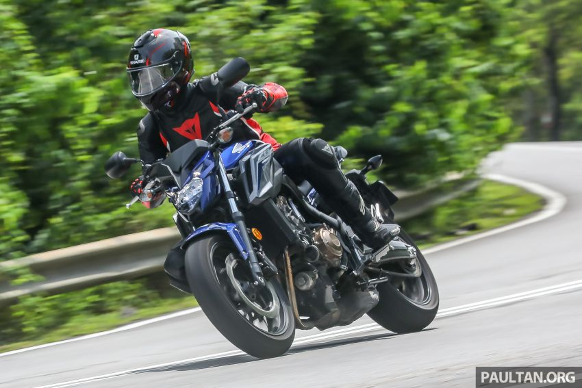 Honda CB650F, Kawasaki Z900 ABS, Triumph 765S, Yamaha MT-09 – which RM50k bike is best for you? Image #829528