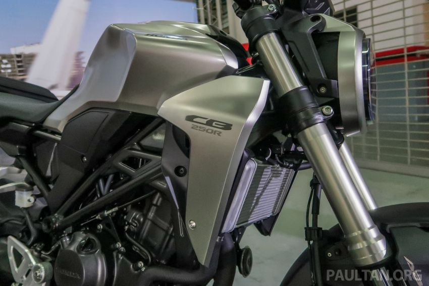 2018 Honda CB1000R and CB250R in Malaysia – priced at RM74,999 and RM22,999, available from July Image #830818