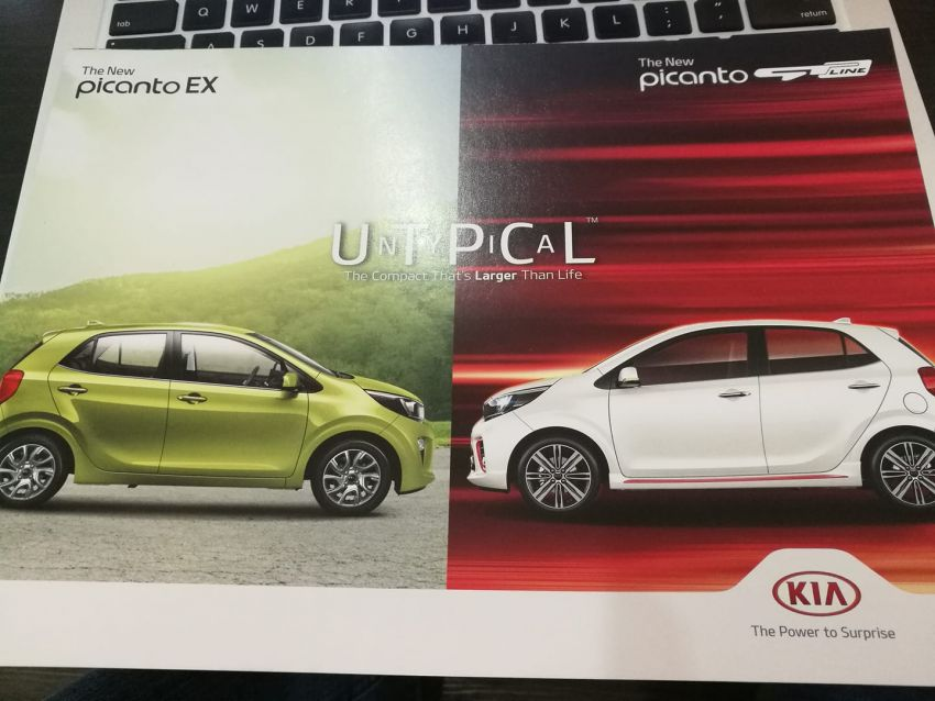 Kia Picanto – Malaysia to get KX, GT-Line with AEB? Image #826374