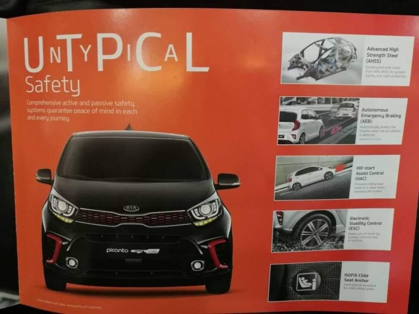 Kia Picanto – Malaysia to get KX, GT-Line with AEB? Image #826377