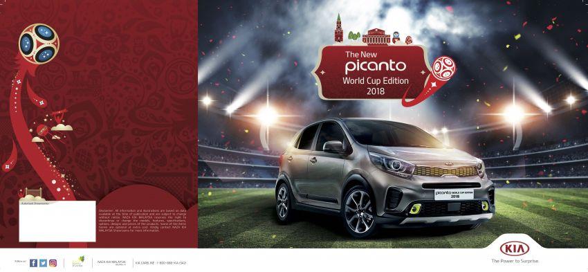 Kia Picanto World Cup Edition 2018 revealed for Malaysia – X-Line trim, AEB, leather seats, sunroof Image #833103